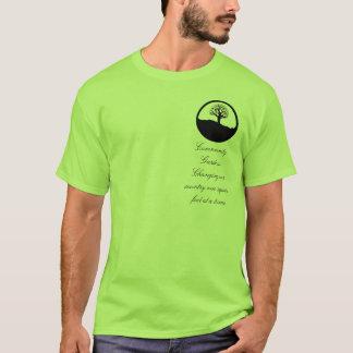 Jardins de la Communauté, changeant notre pays T-shirt
