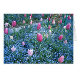 Jardins de Monet, carte de remerciements de