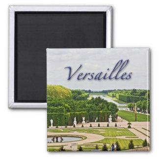Jardins de palais de Versailles Magnet Carré