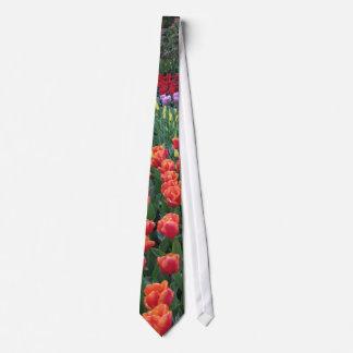 Jardins de tulipe cravates