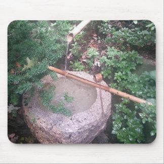 Jardins en bambou en pierre de Japonais de Tapis De Souris
