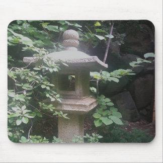 Jardins en pierre de Japonais de pagoda de tapis Tapis De Souris
