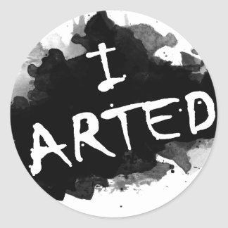 J'arted Sticker Rond