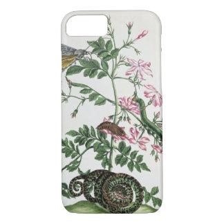 Jasmin : avec le serpent, la mite, le caterpiller coque iPhone 8/7