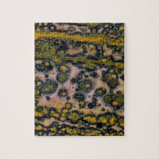 Jaspe d'océan repéré par jaune puzzle