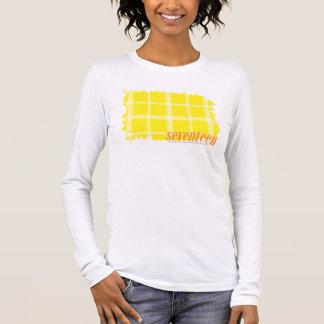 Jaune 3 de plaid t-shirt à manches longues