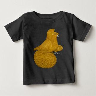 Jaune de pigeon de trompettiste t-shirt pour bébé