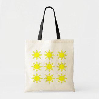 Jaune de sac fourre-tout à soleil