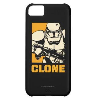 Jaune de soldats de la cavalerie de clone coque iPhone 5C