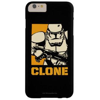 Jaune de soldats de la cavalerie de clone coque iPhone 6 plus barely there