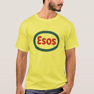 Jaune d'ESOS - avant et dos T-shirt