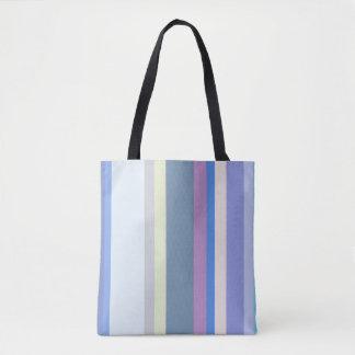 Jaune/gris multicolore/beige/rose/pourpre/bleu tote bag