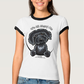 Jaune noir IAAU de Labradoodles T-shirt