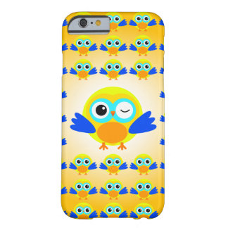 Jaune Poussin Coque Barely There iPhone 6