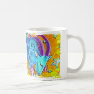 Jaunes modernes de sarcelle d'hiver de l'art 1. de mug