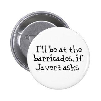 Javert Les Miserables Badges