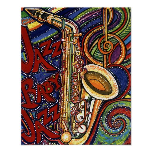 Jazz de bébé de jazz poster