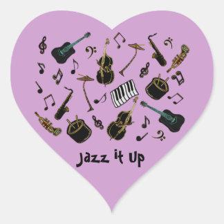 Jazz il sticker cœur