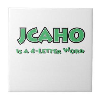 JCAHO est un mot 4-Letter Petit Carreau Carré