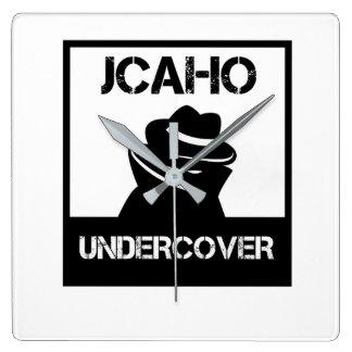 JCAHO secret Horloge Carrée