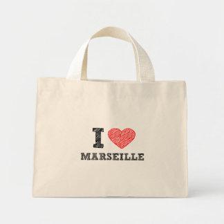 Je-amour-Marseille Sac En Toile Mini