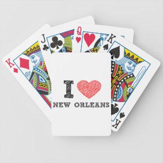 Je-Amour-Nouveau-Orléans Jeu De Poker