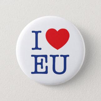 """""""Je Badge d'UE de coeur""""/Pin/bouton"""