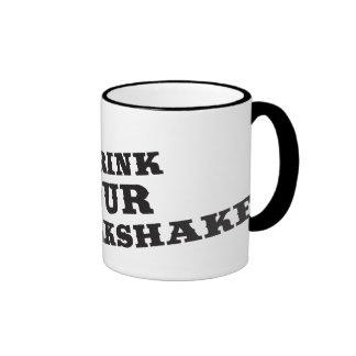 Je bois de votre milkshake là serai sang mug ringer