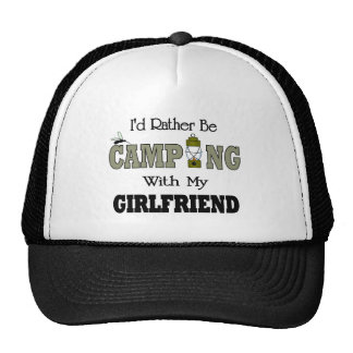 Je camperais plutôt avec mon amie casquette de camionneur