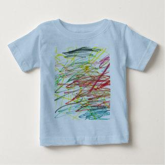 Je colore en dehors des lignes t-shirt pour bébé