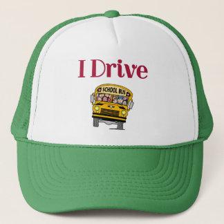 Je conduis un casquette d'autobus scolaire