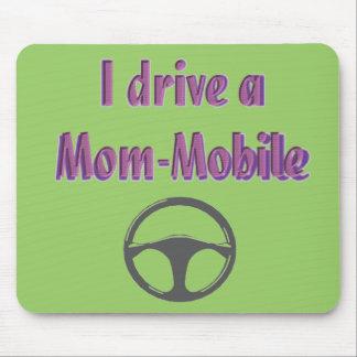 Je conduis un maman-mobile tapis de souris