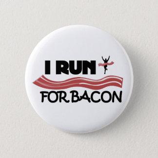 Je cours pour le lard - bouton de Pin Badges