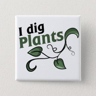 Je creuse des plantes badge