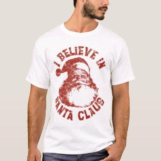 Je crois à la chemise du père noël t-shirt