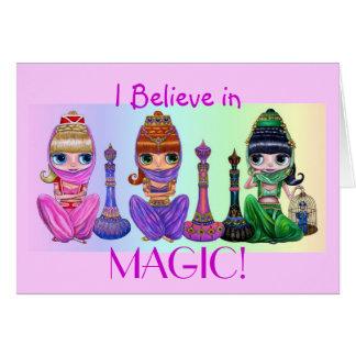 Je crois à la magie ! Carte