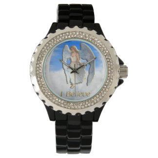 Je crois aux anges montres bracelet