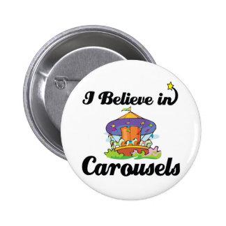 je crois aux carrousels badges avec agrafe