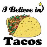 je crois aux tacos photo sculpture