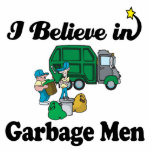 je crois chez des hommes de déchets découpage en acrylique