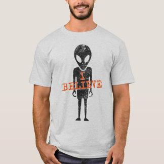 Je crois (dans les aliens) le T-shirt