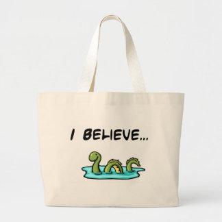 Je crois en monstre de Loch Ness Grand Sac