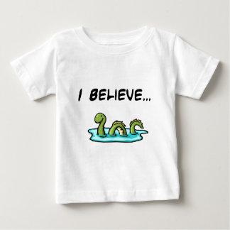Je crois en monstre de Loch Ness T-shirt Pour Bébé