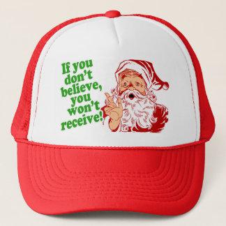 Je crois en père noël casquette