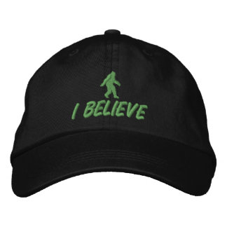 Je crois - piquer vert casquette brodée