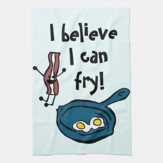 Je crois que je peux faire frire la serviette de c serviette éponge
