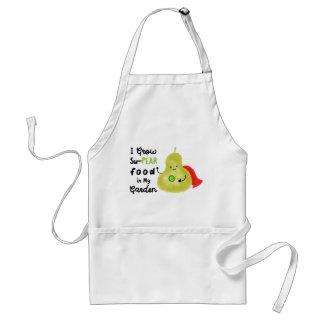 Je cultive la nourriture de la poire Su dans mon Tablier