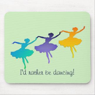 Je danserais plutôt tapis de souris