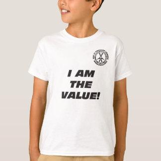 Je de l'enfant suis le T-shirt de valeur