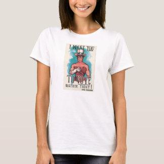 """JE de Sybil """"VOUS VEUX"""" T-shirt"""